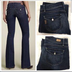 NWOT Paige Jeans : pico low rise bootcut T9